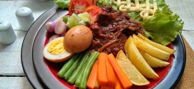Selat Solo, Kuliner Khas Jawa Bergaya Eropa di Kota Surakarta
